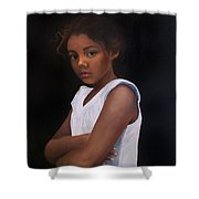 Angelina Shower Curtain