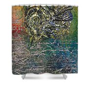 Angels And Mermaids Shower Curtain by Cindy Johnston