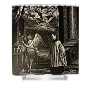 Angels And Saints Shower Curtain