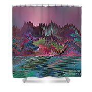 Angels' City Shower Curtain