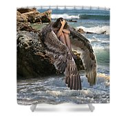 Angels- God Has Sent His Spirit To Comfort You And Heal You Shower Curtain