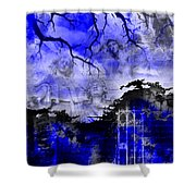 Angels In Gothica Shower Curtain