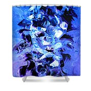 Angels Sky Shower Curtain
