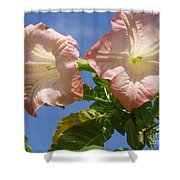 Angel's Trumpet Shower Curtain