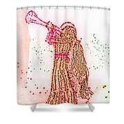 Angels We Have Heard On High Shower Curtain