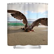 Angels- We Shall Not All Sleep Shower Curtain