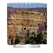 Angel's Window At Cape Royal Grand Canyon Shower Curtain