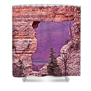 Angel's Window  Grand Canyon Shower Curtain