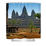 Angkor Afternoon Shower Curtain