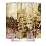Angkor Shower Curtain