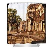 Angkor Wat 02 Shower Curtain