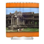 Angkor Wat Cambodia 1 Shower Curtain