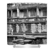 Angkor Wat Cambodia 3 Shower Curtain