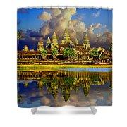 Angkor Wat Just Before Sunset Shower Curtain