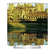 Angkor Wat Reflections 02 Shower Curtain