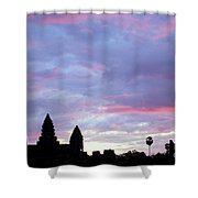 Angkor Wat Sunrise 02 Shower Curtain