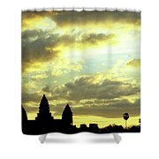 Angkor Wat Sunrise 03 Shower Curtain