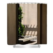 Angled Reflections Shower Curtain