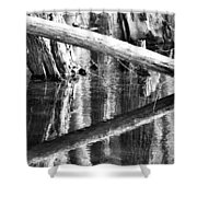 Angles And Reflections Shower Curtain