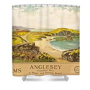 Anglesey Shower Curtain