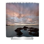 Anglesey Sunset Shower Curtain