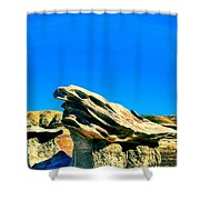 Angry Gods Shower Curtain