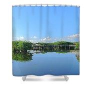 Anhinga Trail Shower Curtain
