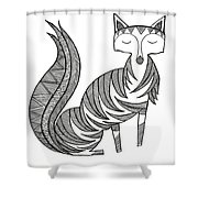 Animal Fox Shower Curtain by MGL Meiklejohn Graphics Licensing