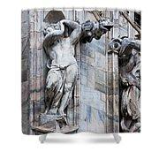 Animal Gargoyles Duomo Di Milano Italia Shower Curtain