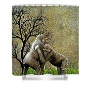 Animal - Gorillas - Isn't Love Grand Shower Curtain