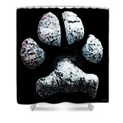 Animal Lovers - South Paw Shower Curtain