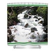 Animas River Southern Colorado Shower Curtain