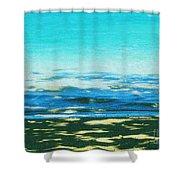 Anini Beach Kauai Shower Curtain