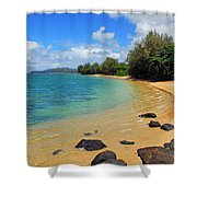 Anini Beach Shower Curtain
