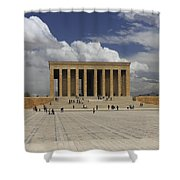 Anitkabir Ankara Turkey Shower Curtain