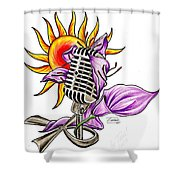 Ankhlight Shower Curtain
