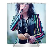Ann Wilson Of Heart At 1981 Day On The Green In Oakland Ca Shower Curtain