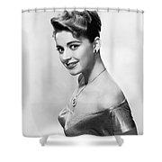 Anna Maria Alberghetti Shower Curtain