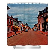 Annapolis Shower Curtain by Benjamin Yeager