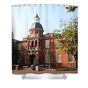 Annapolis - County House Shower Curtain