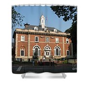 Annapolis Main Post Office Shower Curtain