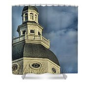 Annapolis Statehouse Shower Curtain