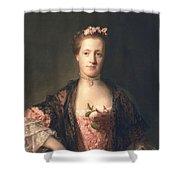 Anne Garth-turnour, Baroness Winterton Shower Curtain