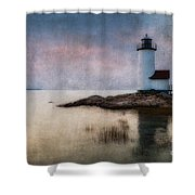 Annisquam Harbor Lighthouse Shower Curtain