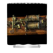 Announcing The End Of The Civil War Shower Curtain