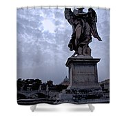 Another Angel Shower Curtain