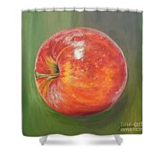 Another Apple Shower Curtain