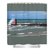 Another Big Wind Shower Curtain