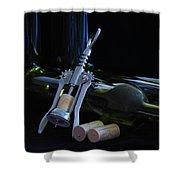 Another Bottle Shower Curtain