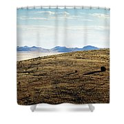 Another Color View Of West Texas Shower Curtain